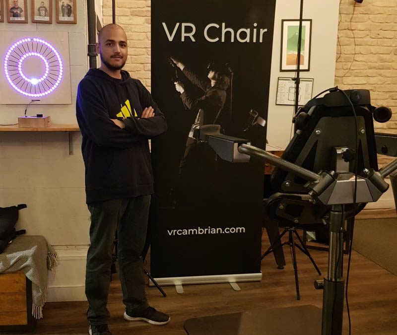 VR Chair at the VR/AR Budapest Meetup