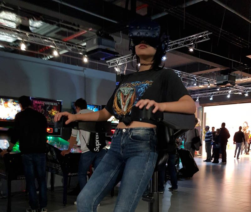 VR Chair at BIG Gaming Challenge