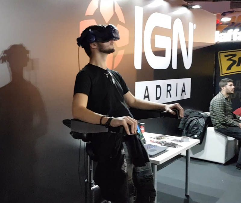VR Chair at Games.con 2018