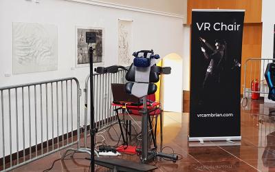 VR Chair at Niš Jedicon
