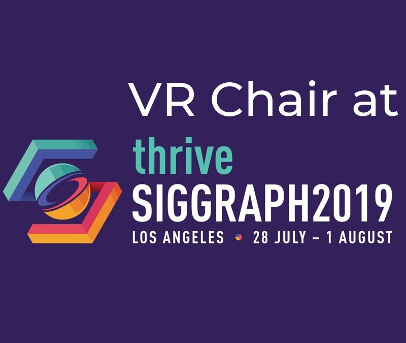 VR Chair at Siggraph 2019
