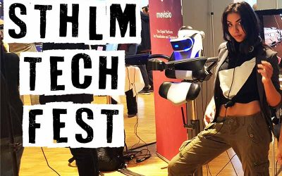 VRMECO at STHLM Tech Fest 2019!
